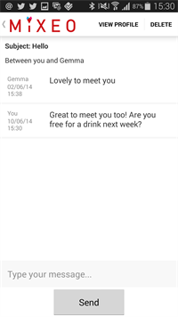 Mixeo Messaging