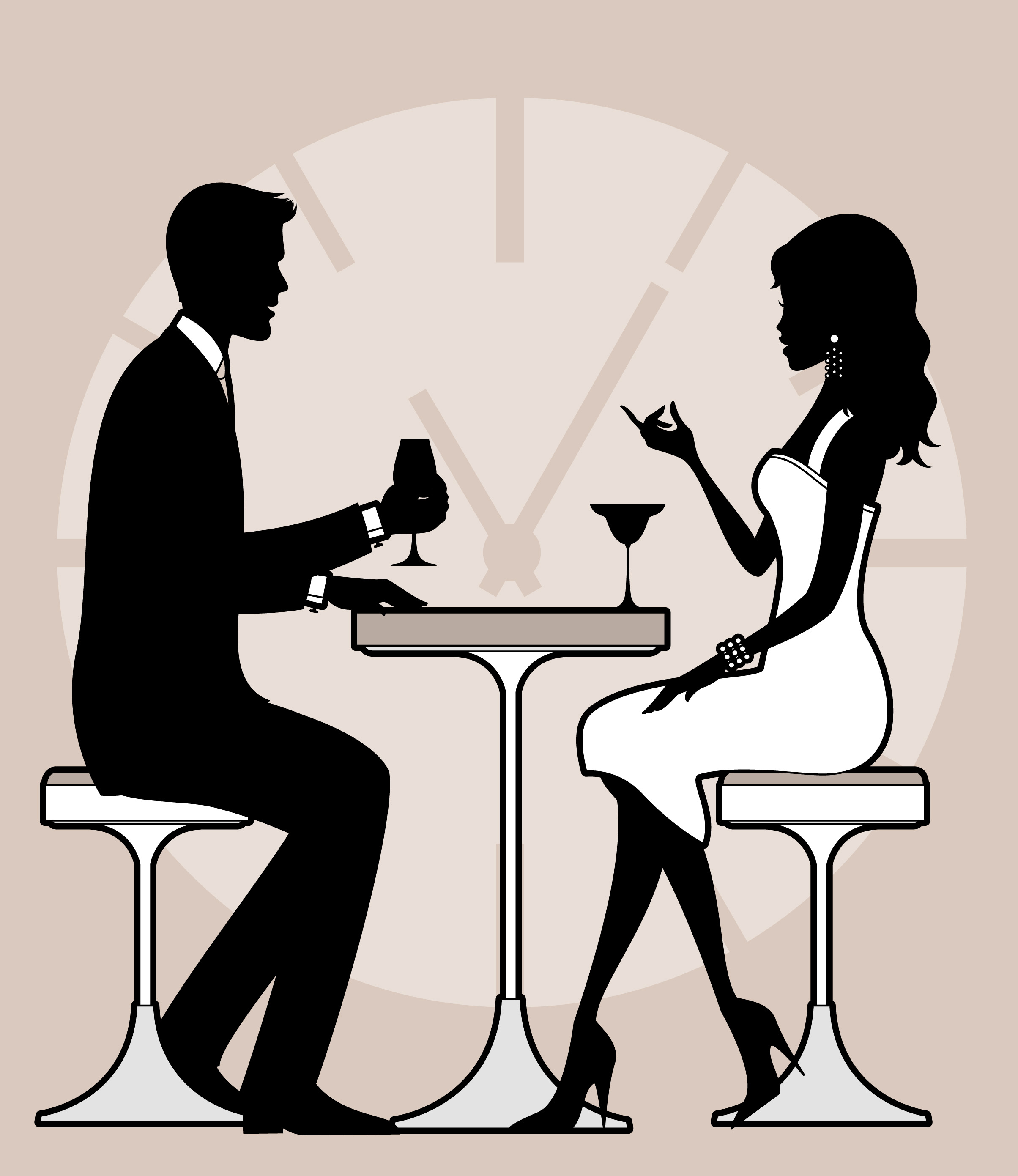 Table for four speed dating