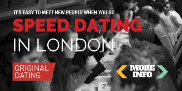 Flatmate speed dating london