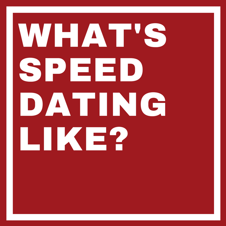 Good question for speed dating