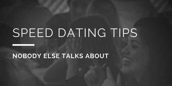 bedste hastigheds dating tips