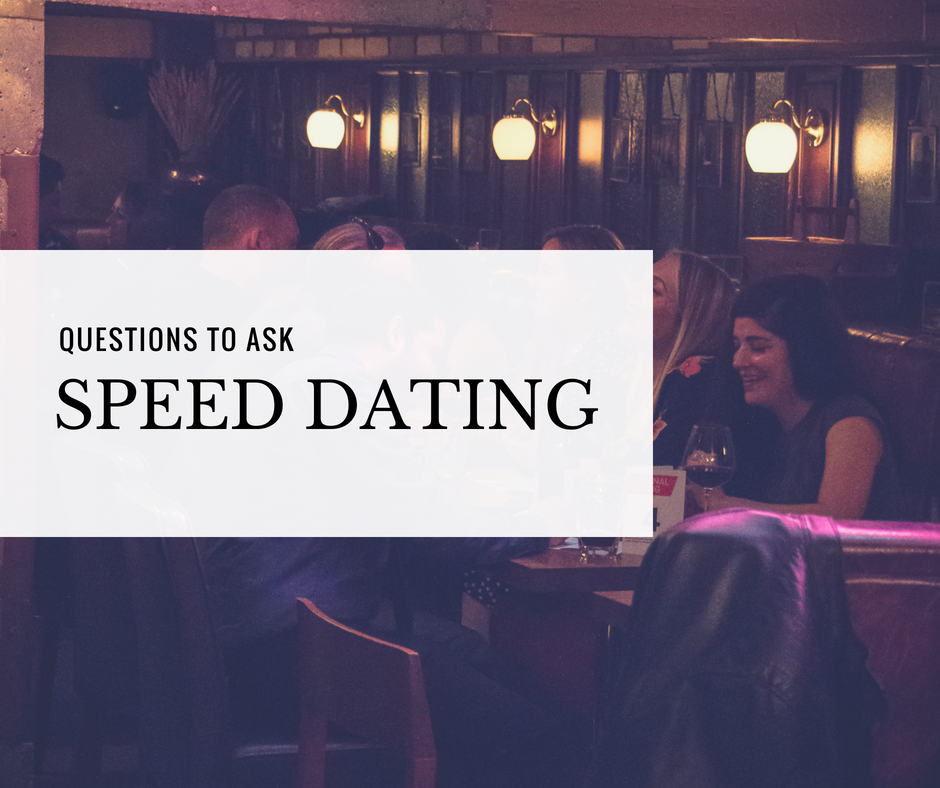 Travel lovers speed dating