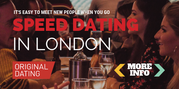 Speed dating london for 20 year olds